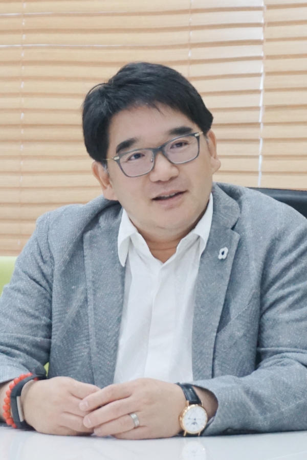 사진. 김상원 대표이사